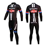 Outdoor Sports Mens Breathable Cycling Short Sleeve Jersey Bike Long Sleeve Jacket Bicycle Shirt Cycle Bib Shorts Tights