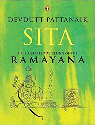 Image result for book Sita: an illustrated retelling of the Ramayana' by Devdutt Pattanaik