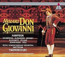 """Cover of """"Mozart - Don Giovanni / Hampson..."""