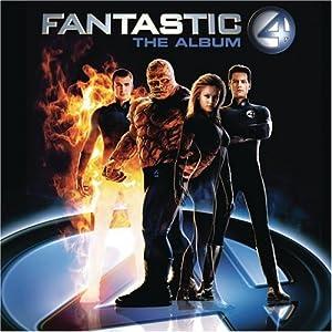 """Cover of """"Fantastic Four - The Album"""""""