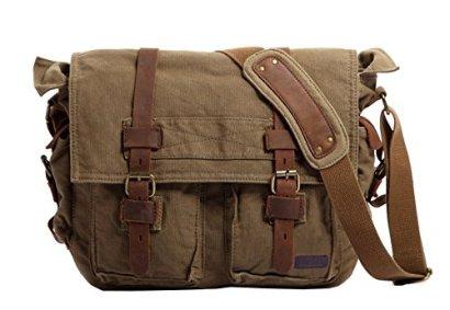 Berchirly-Vintage-Military-Men-Canvas-Messenger-Bag-for-133-Inch-Laptop
