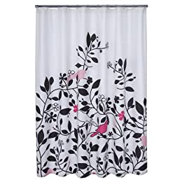 """Product Image DwellStudio® for Target® Robin Shower Curtain - Pink (72x72"""")"""