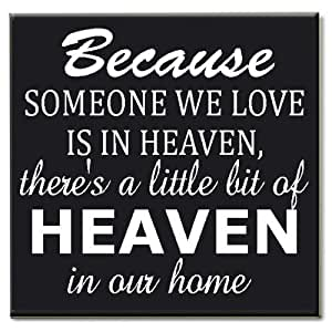 Download Amazon.com: Because Someone We Love Is in Heaven Wood ...