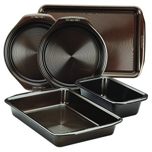 Circulon-5-Piece-Symmetry-Non-Stick-Bakeware-Set-Chocolate