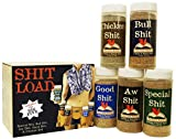 Special Shit - Shit Load Big Five Sampler (Pack of 5 Seasonings with 1 Each of Bull, Special, Good, Aw and Chicken)