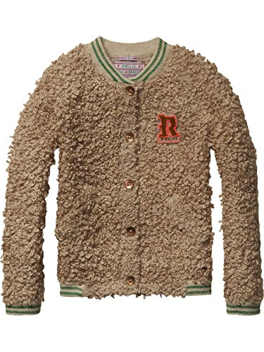 Scotch-RBelle-Mdchen-Strickjacke-Chunky-Knitted-Bomber-Cardigan