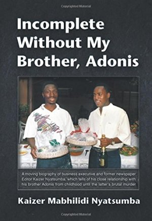 Incomplete Without My Brother, Adonis by Kaizer Mabhilidi Nyatsumba | Featured Book of the Day | wearewordnerds.com