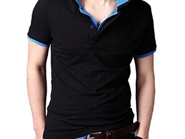 Fanideaz Men's Double Collar Premium Polo Tshirt