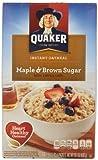Quaker Instant Oatmeal Maple Brown Sugar, 10 ct, 1.51 oz