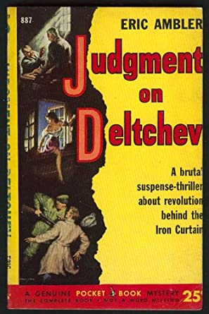 American pulp cover for The Judgment of Deltchev