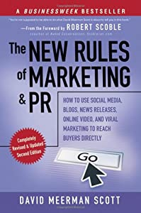"Cover of ""The New Rules of Marketing and ..."