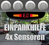 Einparkhilfe für PKW - 4x Sensoren - Mod. 17 21mm - Silber