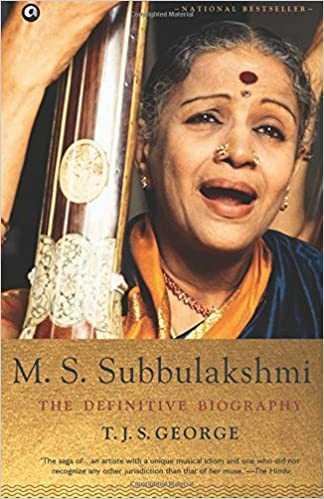 Image result for M S SUBBULAKSHMI DEFINITIVE BIOGRAPHY