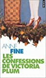Les confessions de Victoria Plum par Anne Fine