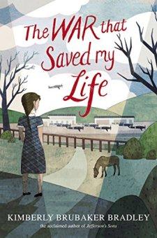 The War that Saved My Life by Kimberly Brubaker Bradley| wearewordnerds.com