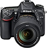 Nikon D7100 SLR-Digitalkamera (24 Megapixel, 7,8 fach opt. Zoom, 8 cm (3,2 Zoll) TFT-Monitor, Full-HD-Video) Kit inkl. Nikon AF-S DX 18-140 mm VR-Objektiv