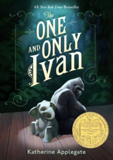 The One and Only Ivan by Katherine Applegate| wearewordnerds.com