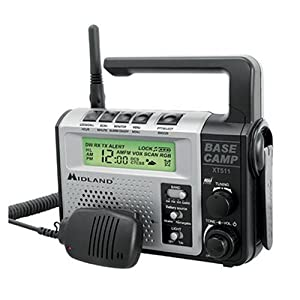 Midland 22-Channel FRS/GMRS Two-Way Emergency Crank Radio
