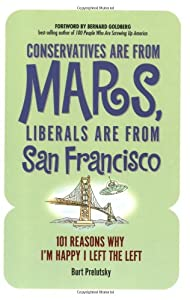 "Cover of ""Conservatives Are from Mars, Li..."