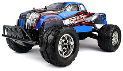 Velocity-Toys-Savage-Race-Champ-Battery-Operated-Remote-Control-RC-Truck-Huge-18-Scale-18-MPH-Size-Giant-Monster-Truck-Off-Road-4WD-4-Wheel-Drive-Huge-Scale-Ready-To-Run-RTR-Colors-May-Vary