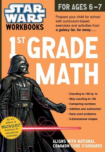 Star Wars Workbook: 1st Grade Math (Star Wars Workbooks)