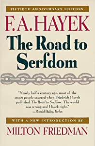 "Cover of ""The Road to Serfdom: Fiftieth A..."