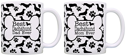 Dachshund Mom Dad Bundle