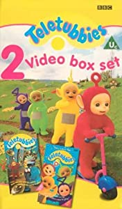 Teletubbies 2 Video Box Set Here Come The Teletubbies Amp Uh Oh Messes And Muddles VHS 1997