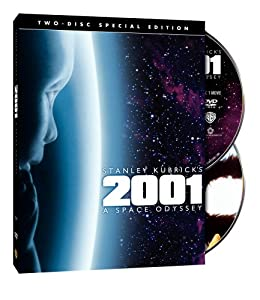 """Cover of """"2001 - A Space Odyssey (Two-Dis..."""