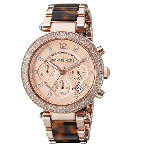 s watch parker brown crystal-accented mk5538,michael women,video review,(VIDEO Review) Michael Women's Watch Parker Brown Crystal-Accented MK5538,