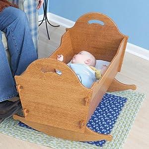 woodworking cradle plans