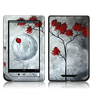 Far Side of the Moon Design Protective Decal Skin Sticker for Barnes and Noble NOOK COLOR E-Book Reader