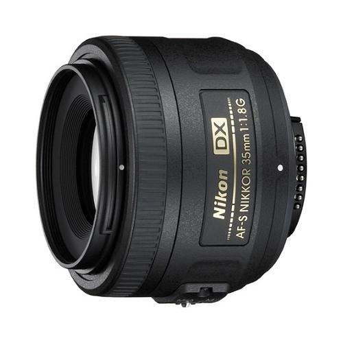 Nikon AF-S DX NIKKOR 35mm f/1.8G Lens with Auto Focus for Nikon DSLR Cameras