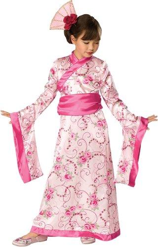 Let's Pretend Child's Asian Princess Pink Kimono Costume, Large