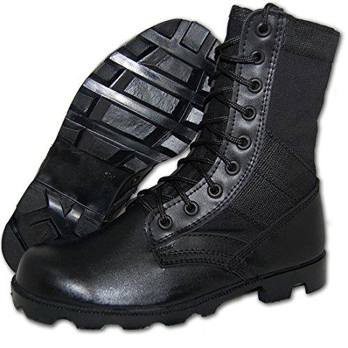 G.I. COMBAT Jungle Boot, Men in Black Size 10