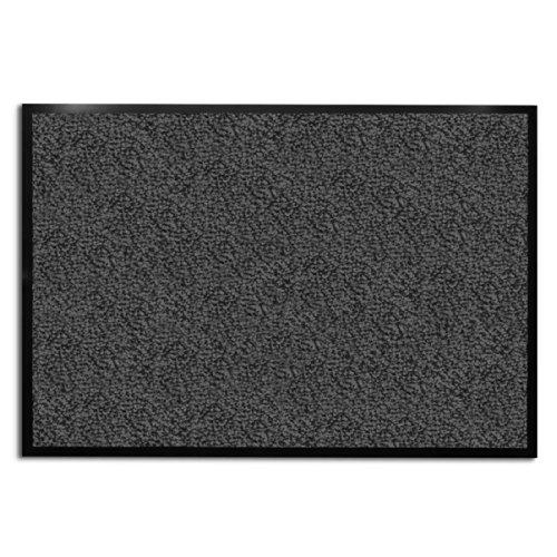 casa pura® Premium Fußmatte für Eingangsbereiche | Testnote 1,7 | anthrazit – grau | 8 Größen