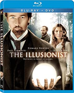 "Cover of ""The Illusionist [Blu-ray]"""