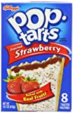 Pop-Tarts Frosted Strawberry, 14.7-Ounce, 8-Count Boxes (Pack of 12)