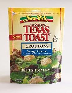Amazoncom New York Texas Toast Asiago Cheese Croutons