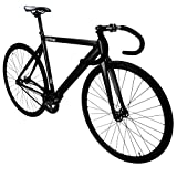 Zycle Fix Prime Alloy Track Fixed Gear Bike - Matte Black