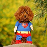Alfie Pet by Petoga Couture - Superhero Costume Superman - Size: L