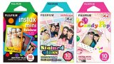 Fujifilm-Instax-Mini-Instant-Film-Rainbow-Staind-Glass-Candy-Pop-Film-10-Sheets-X-3-Assort-Value-Setwith-Values-Japan-Original-Discription-of-Goods