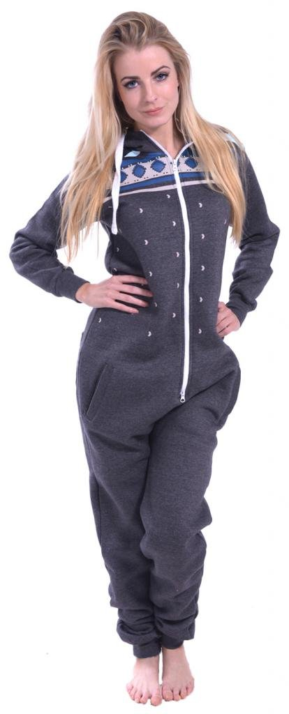 Women's Onesie Fashion Printed Playsuit Ladies Jumpsuit