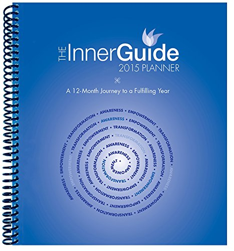 The InnerGuide 2015 Planner, Jan-Dec Calendar with Journal, Goal Planner & Organizer, Monthly, Weekly, Daily Appointment Book Makes a Thoughtful Gift