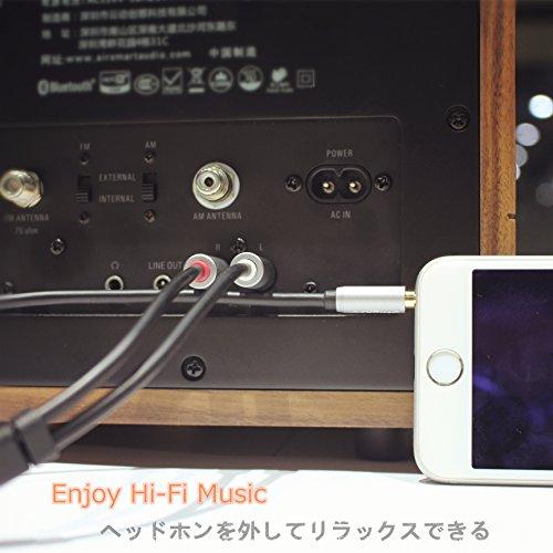 エニープロ Anypro オーディオ変換ケーブル ステレオミニプラグ3.5mm-RCA(赤・白)ピン×2 2.0m 金メッキ AK101