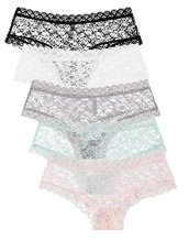 5-Pack-Free-to-Live-Womens-Trimed-Lace-Boy-Short-Panties