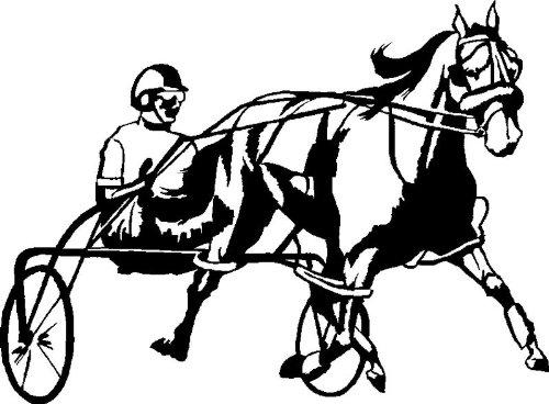 Harness Racing Svg