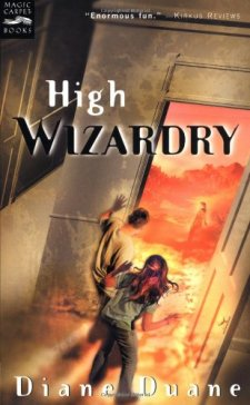 High Wizardry (Young Wizard's Series) by Diane Duane| wearewordnerds.com