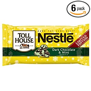 Nestle Toll House Dark Chocolate and Mint Morsels 10