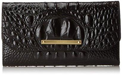 Brahmin-SCB-Checkbook-Case-Black-Melbourne-One-Size
